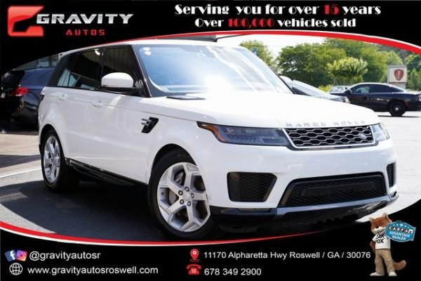 Used 2018 Land Rover Range Rover Sport HSE for sale $61,991 at Gravity Autos Roswell in Roswell GA