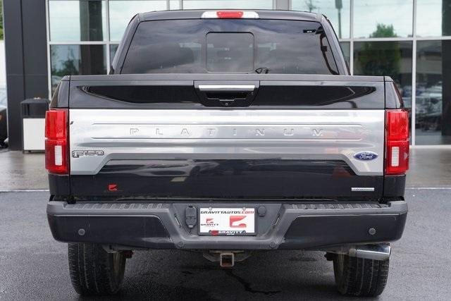 Used 2018 Ford F-150 Platinum for sale $45,991 at Gravity Autos Roswell in Roswell GA 30076 11