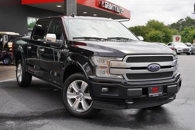 Used 2018 Ford F-150 Platinum for sale $45,991 at Gravity Autos Roswell in Roswell GA 30076 2