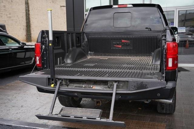 Used 2018 Ford F-150 Platinum for sale $45,991 at Gravity Autos Roswell in Roswell GA 30076 37