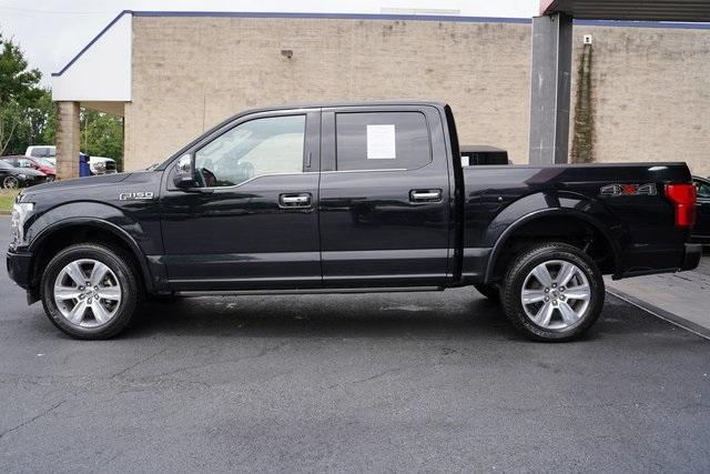 Used 2018 Ford F-150 Platinum for sale $45,991 at Gravity Autos Roswell in Roswell GA 30076 4