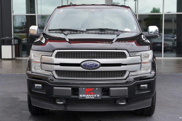 Used 2018 Ford F-150 Platinum for sale $45,991 at Gravity Autos Roswell in Roswell GA 30076 6