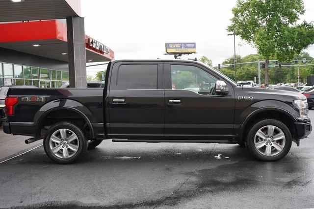 Used 2018 Ford F-150 Platinum for sale $45,991 at Gravity Autos Roswell in Roswell GA 30076 8