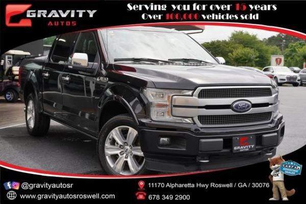 Used 2018 Ford F-150 Platinum for sale $45,991 at Gravity Autos Roswell in Roswell GA
