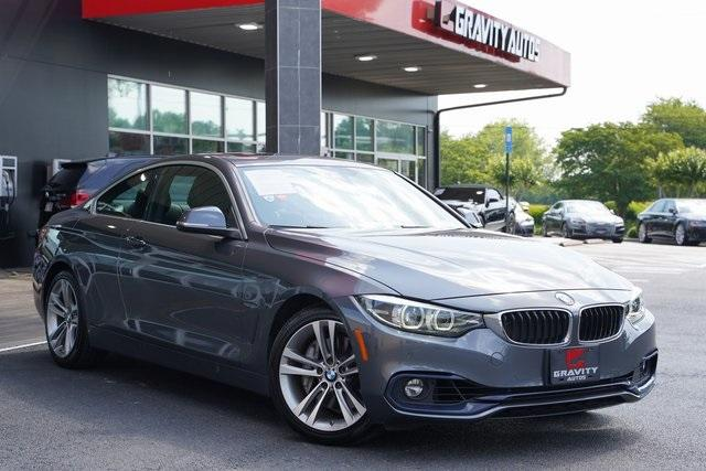 Used 2018 BMW 4 Series 440i for sale $34,991 at Gravity Autos Roswell in Roswell GA 30076 2