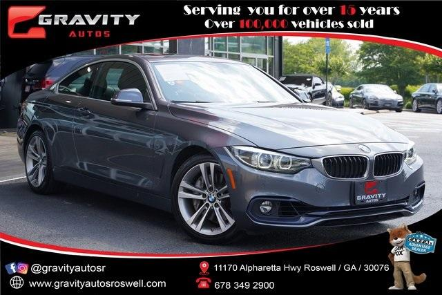 Used 2018 BMW 4 Series 440i for sale $34,991 at Gravity Autos Roswell in Roswell GA 30076 1