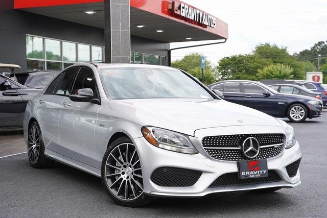 Used 2018 Mercedes-Benz C-Class C 43 AMG for sale $44,991 at Gravity Autos Roswell in Roswell GA 30076 2
