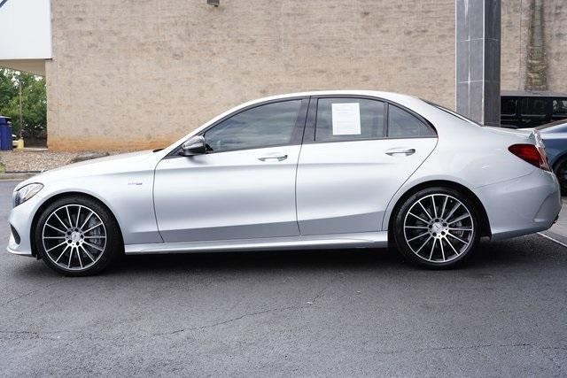 Used 2018 Mercedes-Benz C-Class C 43 AMG for sale $44,991 at Gravity Autos Roswell in Roswell GA 30076 4