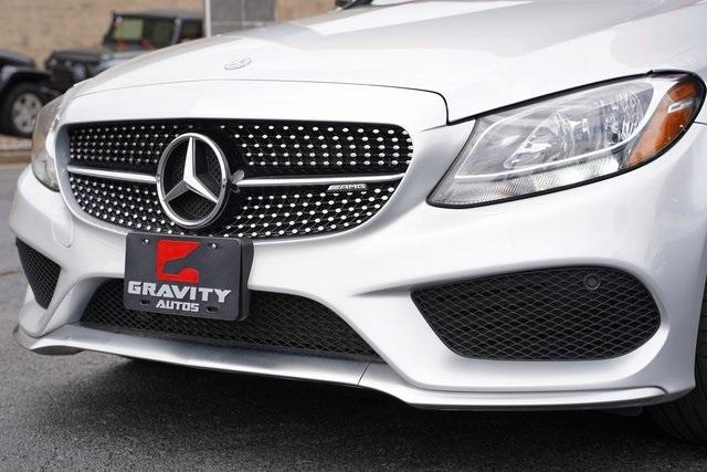 Used 2018 Mercedes-Benz C-Class C 43 AMG for sale $44,991 at Gravity Autos Roswell in Roswell GA 30076 9