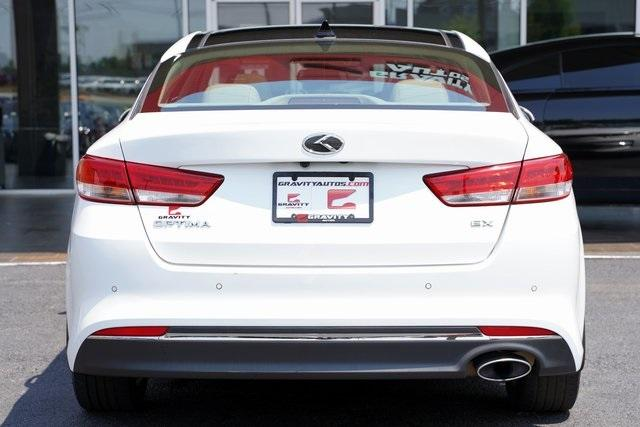 Used 2017 Kia Optima EX for sale Sold at Gravity Autos Roswell in Roswell GA 30076 12