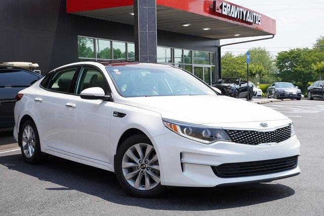 Used 2017 Kia Optima EX for sale Sold at Gravity Autos Roswell in Roswell GA 30076 2