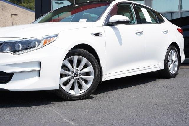 Used 2017 Kia Optima EX for sale Sold at Gravity Autos Roswell in Roswell GA 30076 3