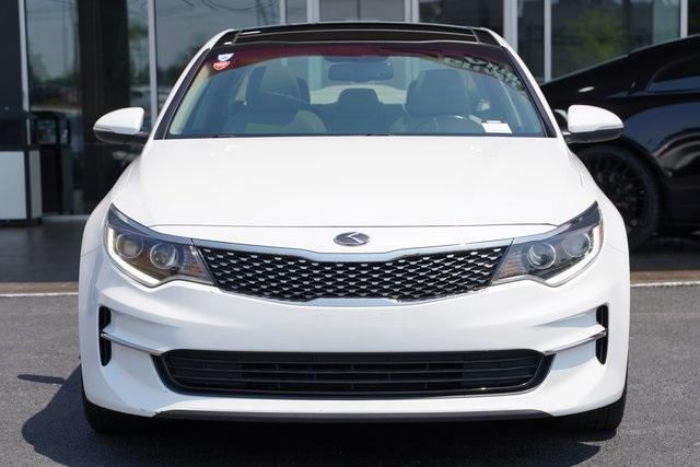 Used 2017 Kia Optima EX for sale Sold at Gravity Autos Roswell in Roswell GA 30076 6