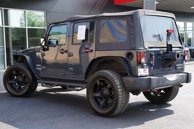 Used 2017 Jeep Wrangler Unlimited Sport for sale $38,991 at Gravity Autos Roswell in Roswell GA 30076 10