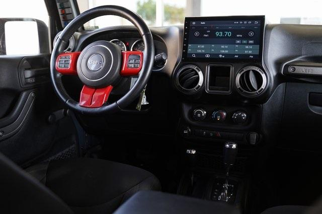 Used 2017 Jeep Wrangler Unlimited Sport for sale $38,991 at Gravity Autos Roswell in Roswell GA 30076 13