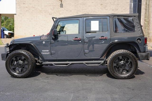 Used 2017 Jeep Wrangler Unlimited Sport for sale $38,991 at Gravity Autos Roswell in Roswell GA 30076 4