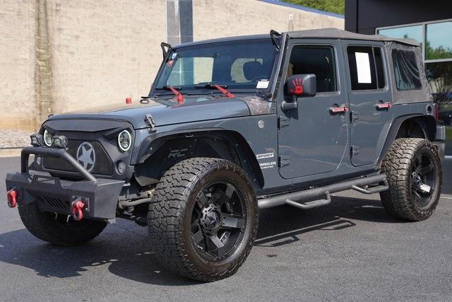 Used 2017 Jeep Wrangler Unlimited Sport for sale $38,991 at Gravity Autos Roswell in Roswell GA 30076 5