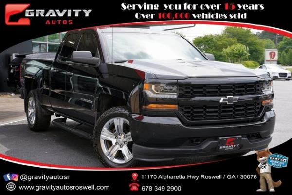 Used 2017 Chevrolet Silverado 1500 Custom for sale $33,991 at Gravity Autos Roswell in Roswell GA