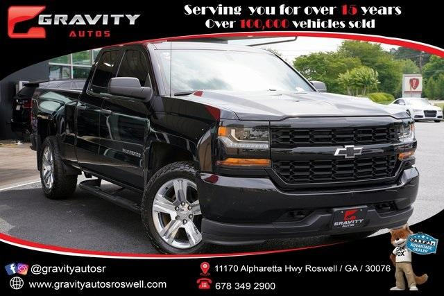 Used 2017 Chevrolet Silverado 1500 Custom for sale $33,991 at Gravity Autos Roswell in Roswell GA 30076 1