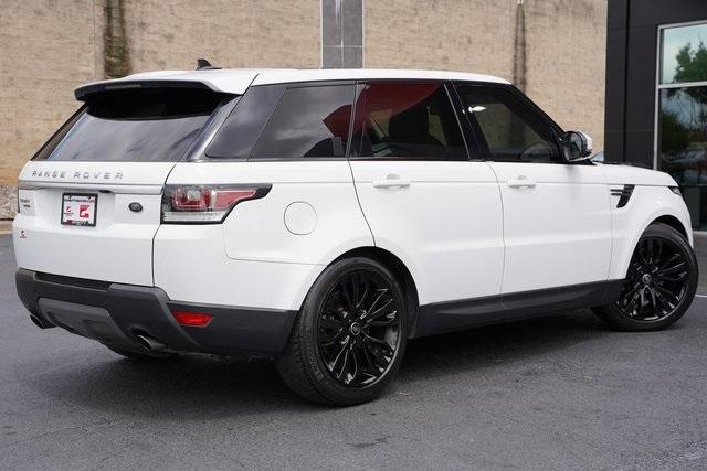 Used 2016 Land Rover Range Rover Sport 3.0L V6 Supercharged SE for sale $43,991 at Gravity Autos Roswell in Roswell GA 30076 14