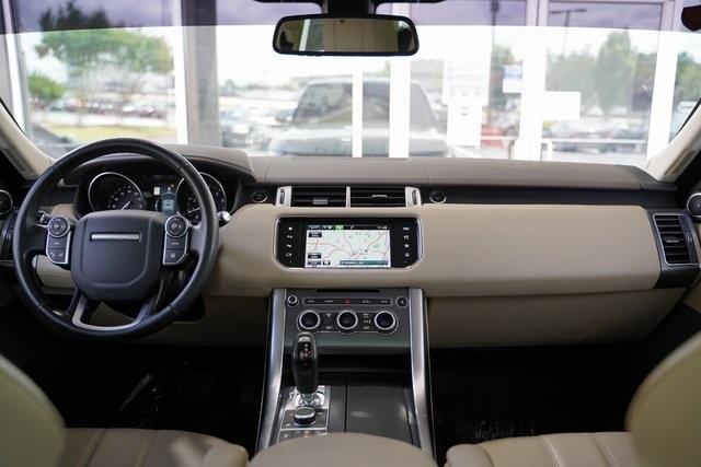 Used 2016 Land Rover Range Rover Sport 3.0L V6 Supercharged SE for sale $43,991 at Gravity Autos Roswell in Roswell GA 30076 16