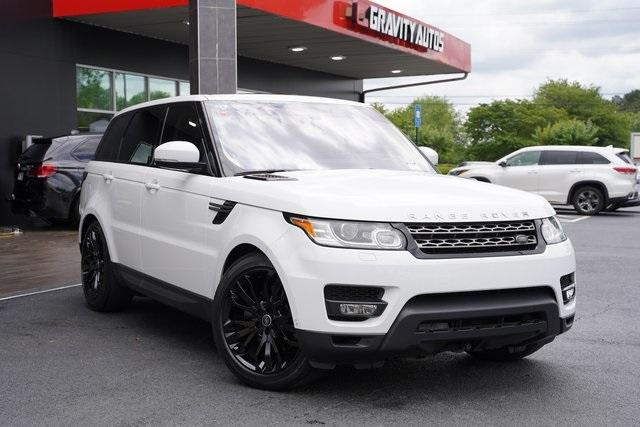 Used 2016 Land Rover Range Rover Sport 3.0L V6 Supercharged SE for sale $43,991 at Gravity Autos Roswell in Roswell GA 30076 2
