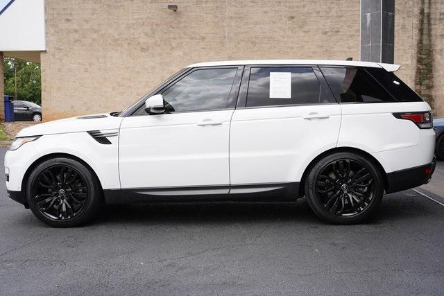Used 2016 Land Rover Range Rover Sport 3.0L V6 Supercharged SE for sale $43,991 at Gravity Autos Roswell in Roswell GA 30076 4