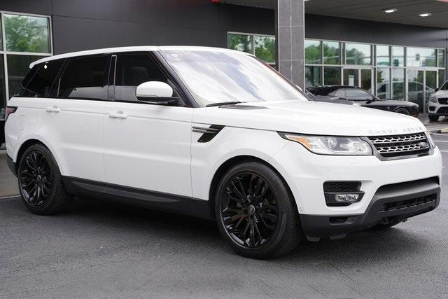 Used 2016 Land Rover Range Rover Sport 3.0L V6 Supercharged SE for sale $43,991 at Gravity Autos Roswell in Roswell GA 30076 7