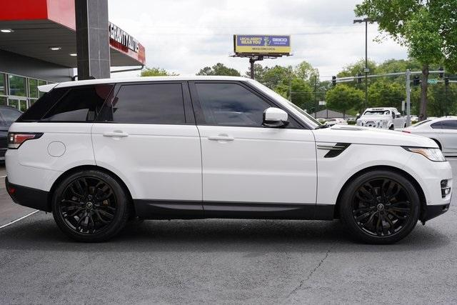 Used 2016 Land Rover Range Rover Sport 3.0L V6 Supercharged SE for sale $43,991 at Gravity Autos Roswell in Roswell GA 30076 8
