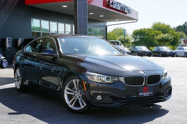 Used 2019 BMW 4 Series 430i Gran Coupe for sale $33,491 at Gravity Autos Roswell in Roswell GA 30076 2
