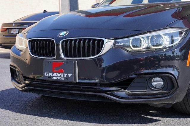 Used 2019 BMW 4 Series 430i Gran Coupe for sale $33,491 at Gravity Autos Roswell in Roswell GA 30076 9