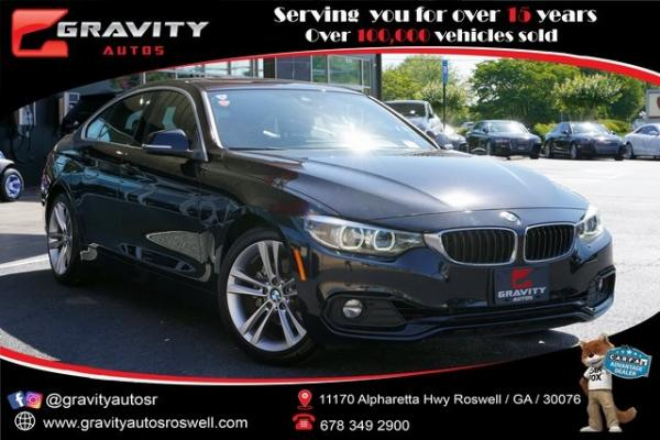 Used 2019 BMW 4 Series 430i Gran Coupe for sale $33,491 at Gravity Autos Roswell in Roswell GA