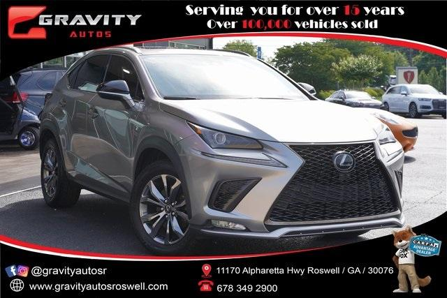 Used 2020 Lexus NX 300 F Sport for sale Sold at Gravity Autos Roswell in Roswell GA 30076 1