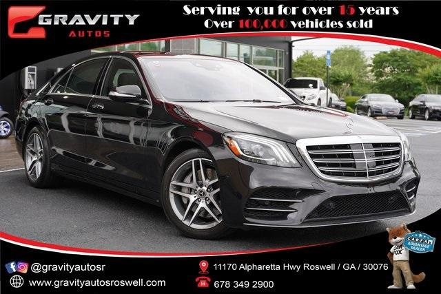 Used 2018 Mercedes-Benz S-Class S 450 for sale $60,991 at Gravity Autos Roswell in Roswell GA 30076 1