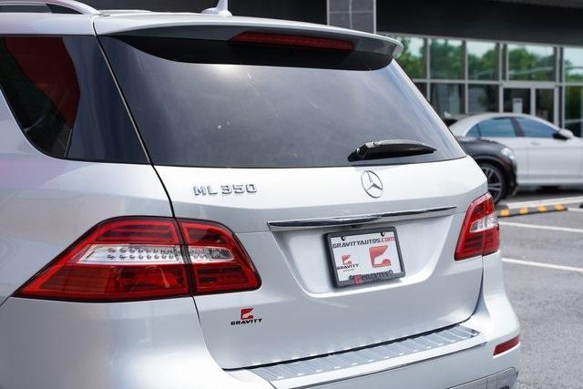 Used 2015 Mercedes-Benz M-Class ML 350 for sale Sold at Gravity Autos Roswell in Roswell GA 30076 14
