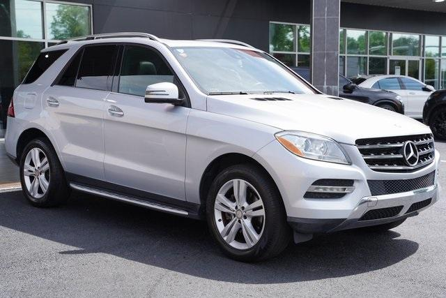 Used 2015 Mercedes-Benz M-Class ML 350 for sale Sold at Gravity Autos Roswell in Roswell GA 30076 7