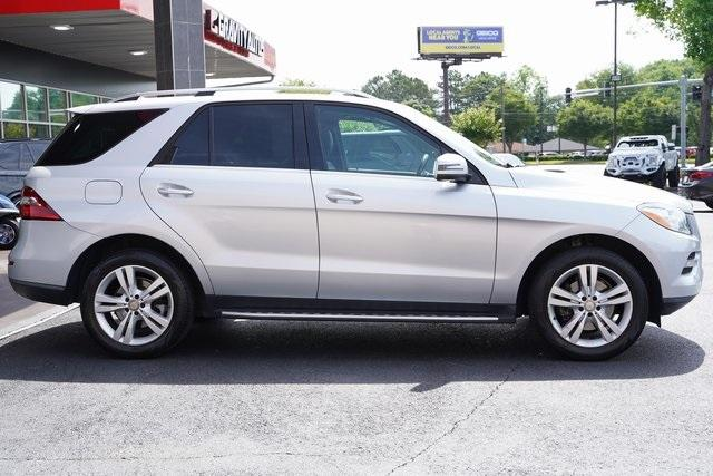 Used 2015 Mercedes-Benz M-Class ML 350 for sale Sold at Gravity Autos Roswell in Roswell GA 30076 8
