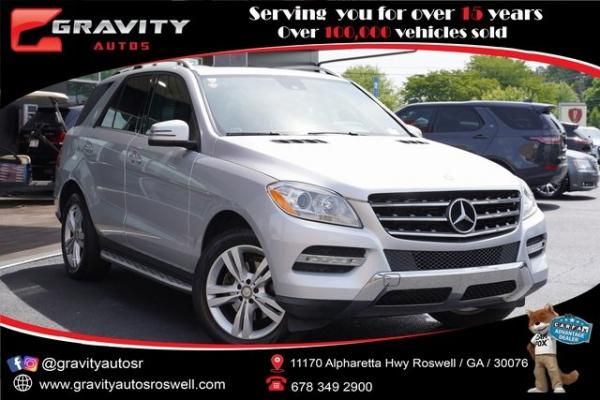 Used 2015 Mercedes-Benz M-Class ML 350 for sale $25,996 at Gravity Autos Roswell in Roswell GA