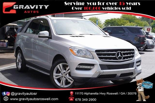 Used 2015 Mercedes-Benz M-Class ML 350 for sale Sold at Gravity Autos Roswell in Roswell GA 30076 1