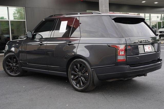 Used 2015 Land Rover Range Rover 3.0L V6 Supercharged HSE for sale $47,991 at Gravity Autos Roswell in Roswell GA 30076 10