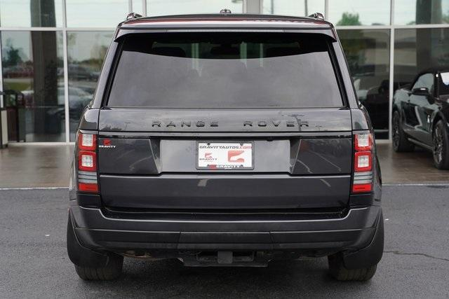 Used 2015 Land Rover Range Rover 3.0L V6 Supercharged HSE for sale $47,991 at Gravity Autos Roswell in Roswell GA 30076 11