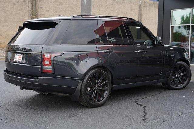 Used 2015 Land Rover Range Rover 3.0L V6 Supercharged HSE for sale $47,991 at Gravity Autos Roswell in Roswell GA 30076 12