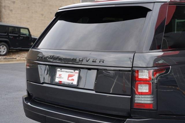 Used 2015 Land Rover Range Rover 3.0L V6 Supercharged HSE for sale $47,991 at Gravity Autos Roswell in Roswell GA 30076 13