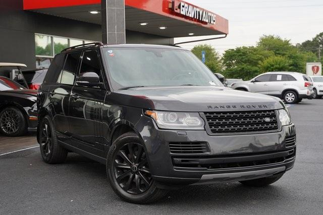 Used 2015 Land Rover Range Rover 3.0L V6 Supercharged HSE for sale $47,991 at Gravity Autos Roswell in Roswell GA 30076 2