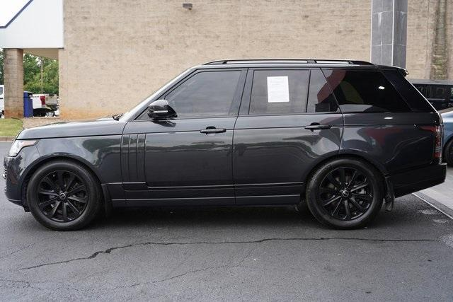 Used 2015 Land Rover Range Rover 3.0L V6 Supercharged HSE for sale $47,991 at Gravity Autos Roswell in Roswell GA 30076 4