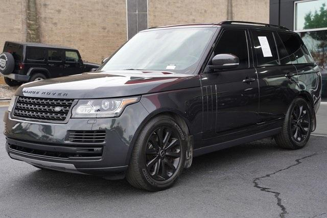 Used 2015 Land Rover Range Rover 3.0L V6 Supercharged HSE for sale $47,991 at Gravity Autos Roswell in Roswell GA 30076 5