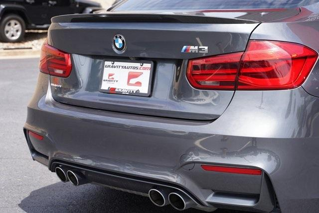 Used 2018 BMW M3 Base for sale $53,991 at Gravity Autos Roswell in Roswell GA 30076 16