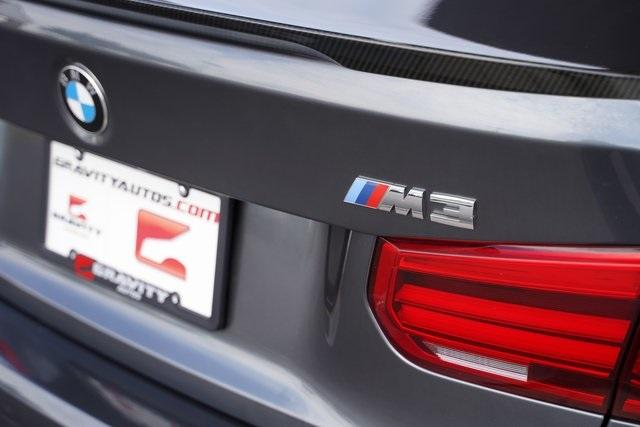 Used 2018 BMW M3 Base for sale $53,991 at Gravity Autos Roswell in Roswell GA 30076 17