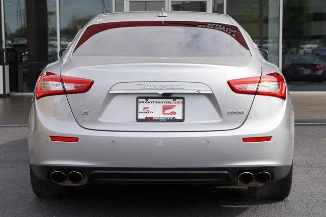 Used 2017 Maserati Ghibli S for sale $39,991 at Gravity Autos Roswell in Roswell GA 30076 12