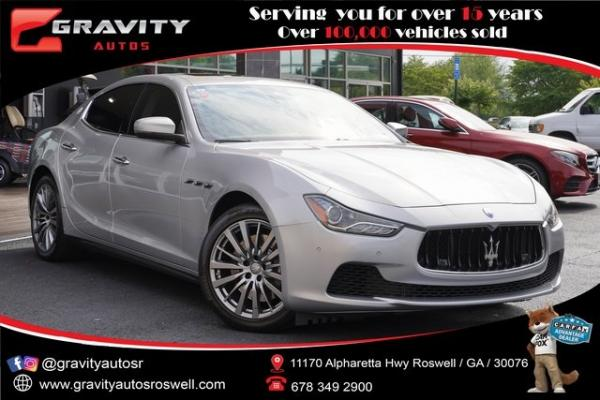 Used 2017 Maserati Ghibli S for sale $39,991 at Gravity Autos Roswell in Roswell GA
